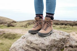 Boots on a rock!