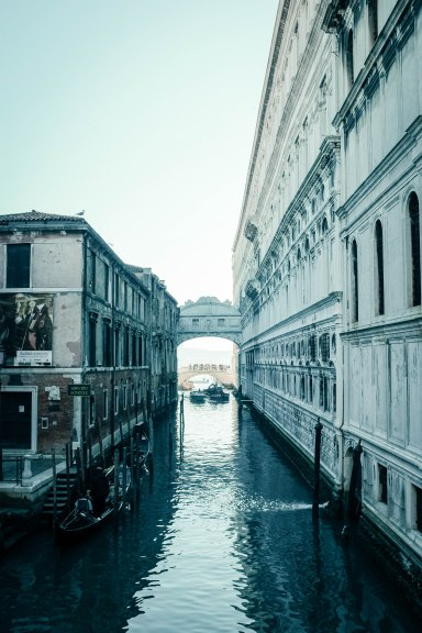 Venice in winter's light